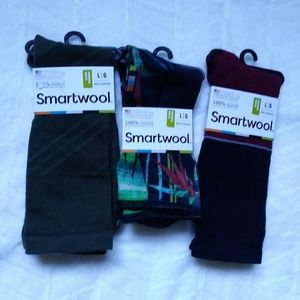 (3) Smartwool Men's Non-Cushion Socks